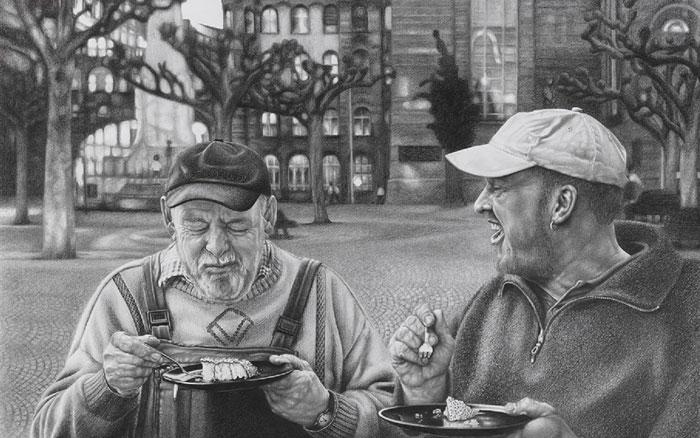 Frankfurter Kaffeekränzchen, Ewald und Tobias