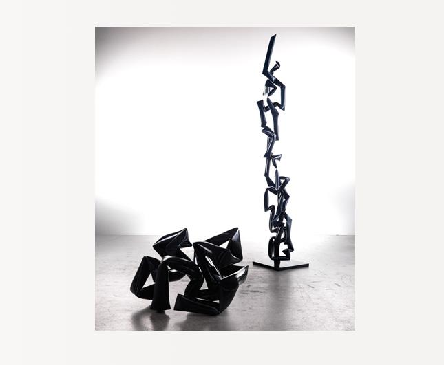 Bodenskulptur / Floor sculpture