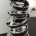 Carlo Borer, Stalagmite, 2018, Edelstahl 230 x 110 x 110 cm