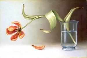Schallenberg: Ins Licht, 2016, Öl auf Leinwand, 80 x 120 cm