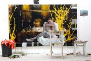 Thomas Jessen: Atelieransicht
