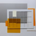 WOLFGANG ELLENRIEDER: Tableau mit Plexiglas, 89 x 118 cm, Öl, Pigmentdruck auf Forex, Plexiglas, 2016