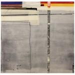 LIU GUANGYUN: Original color, 2016, mixed media, 120 x 120 cm