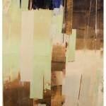 LIU GUANGYUN: Original color, 2017, mixed media, 170 x 130 cm