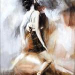 Wojtek Pakmur: Tango Traum, 2013, Acryl auf Leinwand, 104 x 152 cm