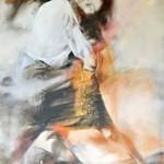 Wojtek Pakmur: Tango Traum 2, 2013, Acryl auf Leinwand, 104 x 152 cm