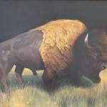 Clement Loisel: Beauty and the Biest. 2017, Öl auf Leinwand, 139 x 181 (mit Rahmen: 142 x 182,5 cm )