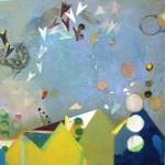 Cristina Canale, Semaforo 2017, Mischtechnik auf Leinwand, 170 x 200 cm