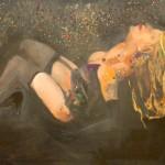 Reinhard Stangl, Melancholie 2006,Öl auf Leinwand, 115 x 145 cm