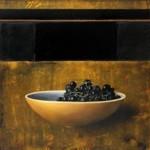 Michael Lauterjung, Dunkle Beeren, 2011, 92 x 86 cm