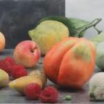 Maurice Ducret, Ducret Fruechte-zur-selben-Zeit, 2016, 70 x 100 cm