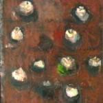 Ioan Iacob, Amandine, 2014, 50 x 40 cm