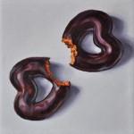 Christine Reinckens, Von Herzen3, 18 x 18 cm