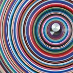 Jürgen Paas, Target_WALL, 2017, ca. 100 x 10 cm