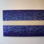 Shingo Francis, Space between, 2018, 100 x 160 cm