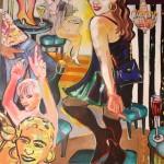 Elvira Bach, Aniko, 2008, 230 x 190 cm