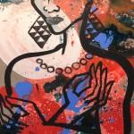 Elvira Bach, o.T., 2017, 80 x 60 cm