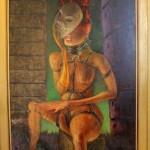 Clemens Gröszer, arin á cholie (VII), 1992/95, 175 x 90 cm