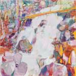 Szilard Huszank, LC #96, 2018, 100 x 100 cm