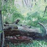 Saxana, ...kommst Du mit in den Wald, 2015, 80 x 100 cm