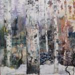 Szilard Huszank, LC#40, 2014, 180 x 150 cm