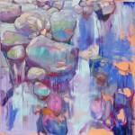 Szilard Huszank, LC#95, 2018, 100 x 100 cm