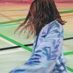 Sabine Dehnel, Angels Fly, 2018, 150 x 170 cm