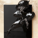 Ulrike Buhl, Das Aufbrechen der Gestalt, 2015, 55 x 45 x 6,5 cm