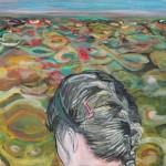 Sabine Dehnel, Ein Tag am Meer, 2018, 45 x 50 cm