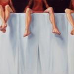 Christine Reinckens, Über den Dingen 1, 2014, 38 x 100 cm