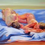 Christine Reinckens, Später Nachmittag, 2013, 30 x 40 cm