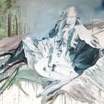 Helge Hommes, Ama Dablam, 2018, 135 x 190 cm