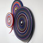 Jürgen Paas, Target/Wall, 2018, 160 x 160 x 20 cm