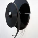 Jürgen Paas, Kino (Black), 2014, 80 x 20 cm