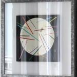 Jürgen Paas, Beatsticks, 2017, 41 x 41 x 4 cm (gerahmt)