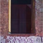 JÜRGEN DURNER, Schacht, Öl auf Leinwand, 250 x 190 cm, 2017
