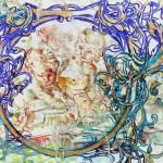 Kristina Girke, Die Utopisten, 2013, Öl auf Leinwand, 155 x 165 cm