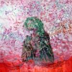 Kristina Girke, Feuerbachs Wahn, 2012, Öl auf Leinwand, 135 x 135 cm