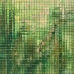 Kleiner, Glasgarten, 2017, 60 x 60 cm