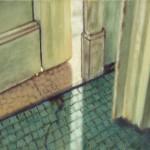 Türspalt, 2018, 55 x 65 cm