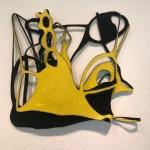 Gedankensplitter 1, 2019, Filz, 50 x 50 x 10 cm
