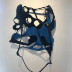 Gedankensplitter 2, 2019, Filz, 50 x 50 x 10 cmjpeg