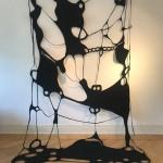 window of the mind, 2018, Filz, 400 x 220
