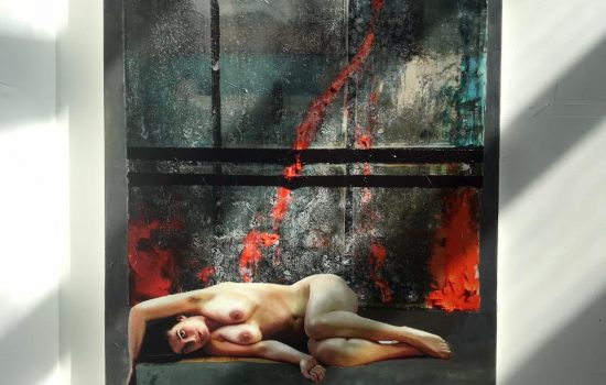 THOMAS JESSEN Susan 2020 Öl auf Leinwand 160 x 220 cm